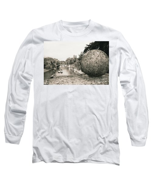 Cambridge Punting  Long Sleeve T-Shirt by Eden Baed