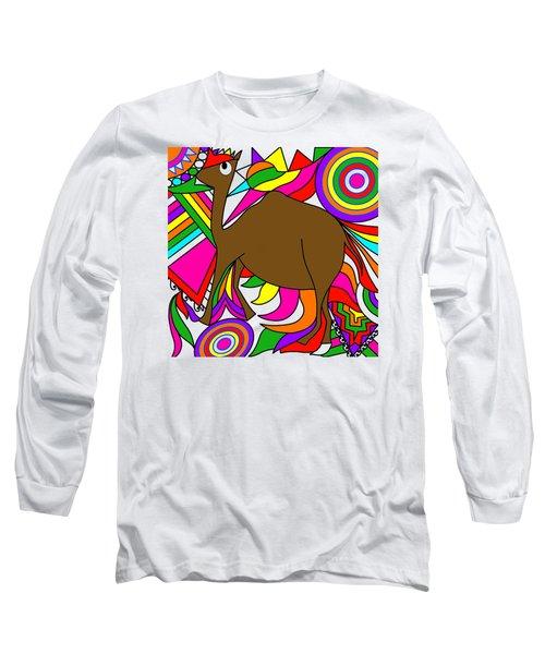 Camel Art Long Sleeve T-Shirt