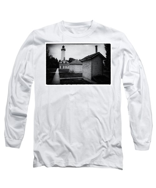Long Sleeve T-Shirt featuring the photograph Cana Island Retro by Janice Adomeit