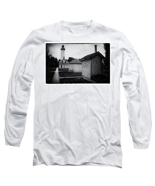 Cana Island Retro Long Sleeve T-Shirt by Janice Adomeit