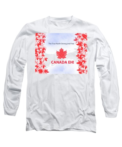 Canada Day 2016 Long Sleeve T-Shirt by Trilby Cole