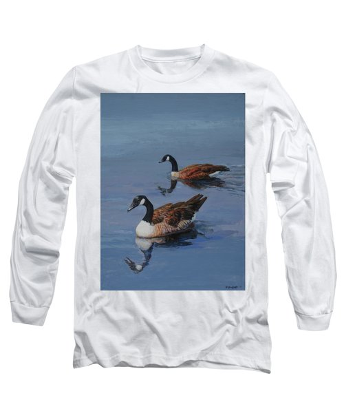 Canadian Geese Long Sleeve T-Shirt