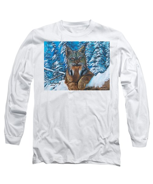 Canadian Lynx Long Sleeve T-Shirt