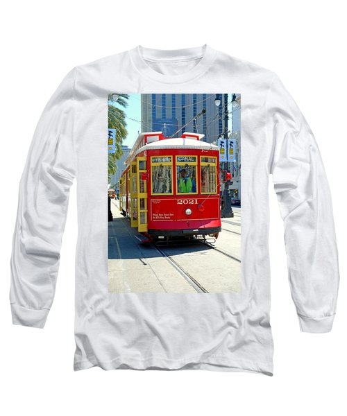 Canal Street Cable Car Long Sleeve T-Shirt