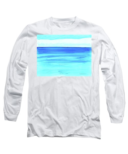 Cancun Mexico Long Sleeve T-Shirt by Dick Sauer