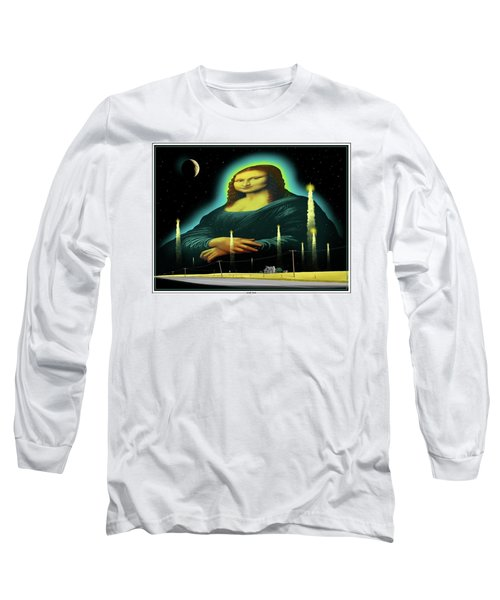Candles For Mona Long Sleeve T-Shirt by Scott Ross