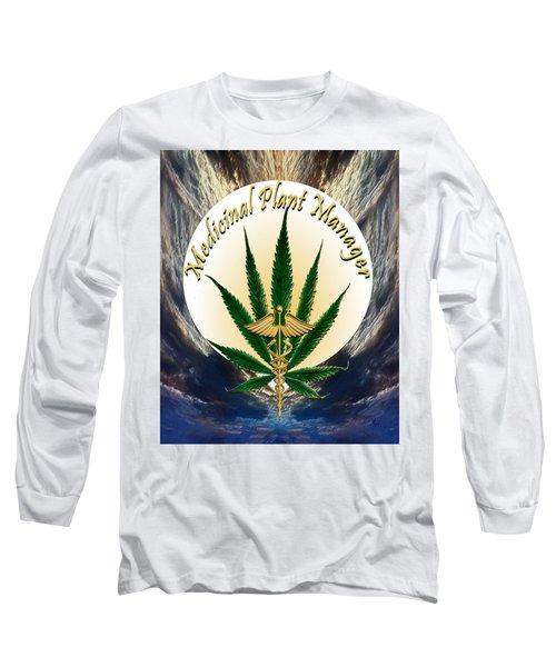 Cannabis Medicinal Plant Long Sleeve T-Shirt