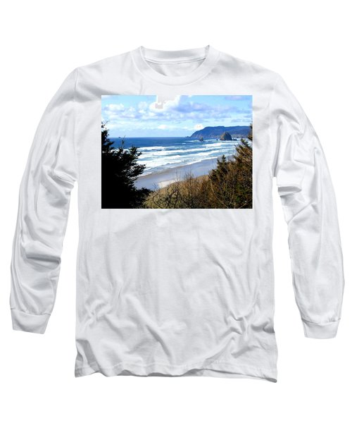 Cannon Beach Vista Long Sleeve T-Shirt