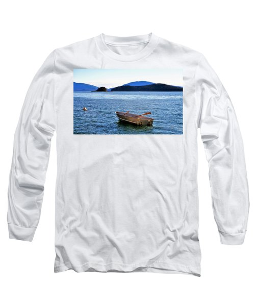 Canoe Long Sleeve T-Shirt by Martin Cline