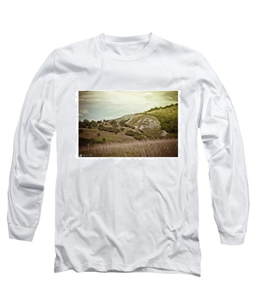 #canon #clouds #sky #kyffhaeuser Long Sleeve T-Shirt