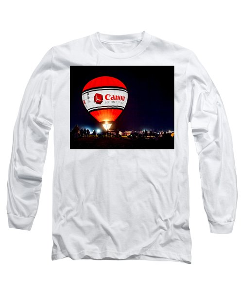 Canon - See Impossible - Hot Air Balloon Long Sleeve T-Shirt
