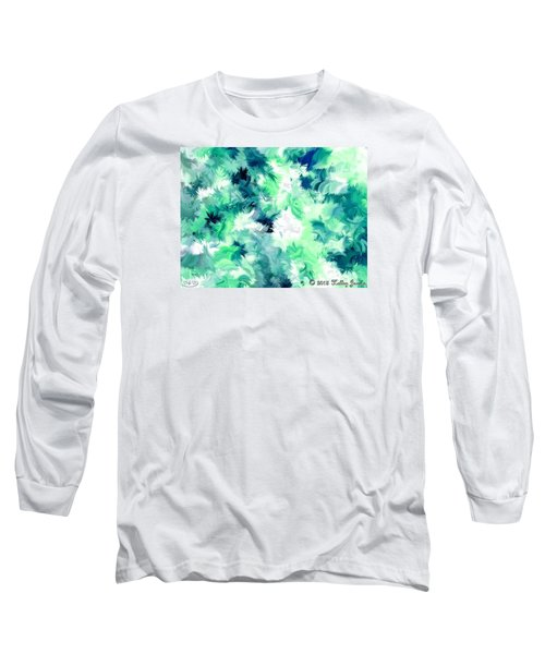 Can't Stop Smiling Long Sleeve T-Shirt by Holley Jacobs