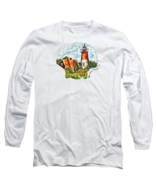 Cape Cod Lighthouse Long Sleeve T-Shirt
