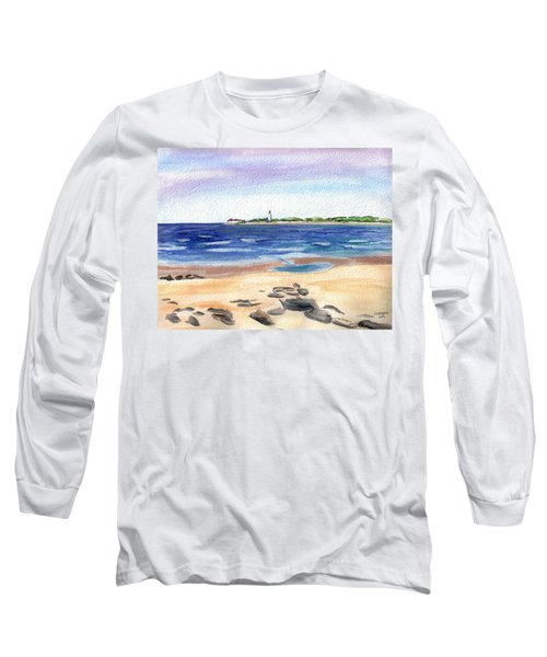 Cape May Beach Long Sleeve T-Shirt