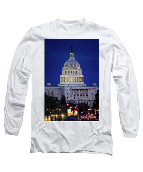 Capitol At Dusk Long Sleeve T-Shirt