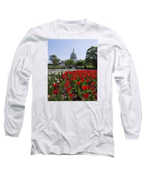Capitol Tulips  Long Sleeve T-Shirt
