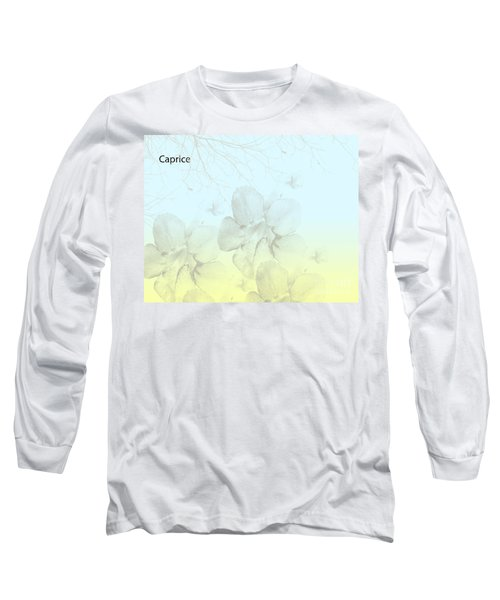 Caprice Long Sleeve T-Shirt by Trilby Cole