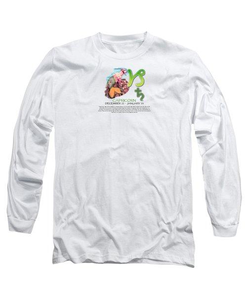 Capricorn Sun Sign Long Sleeve T-Shirt