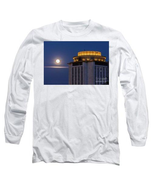 Capstone House And Full Moon Long Sleeve T-Shirt