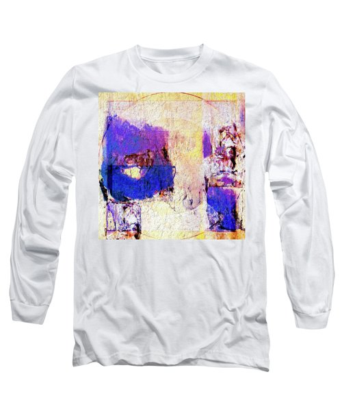 Long Sleeve T-Shirt featuring the painting Captiva by Dominic Piperata