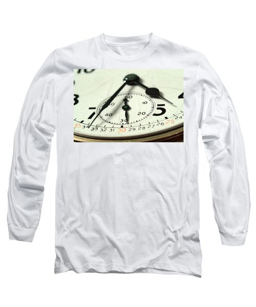 Captured Time Long Sleeve T-Shirt by Michael McGowan