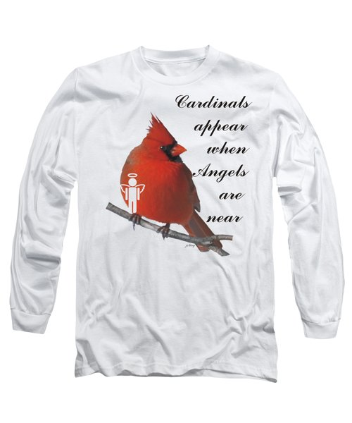 Cardinals And Angels Long Sleeve T-Shirt