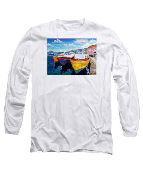 Carenage Scene 1 Long Sleeve T-Shirt