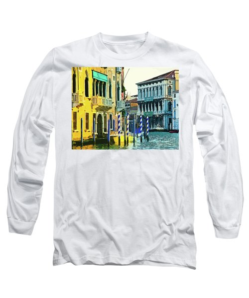 Long Sleeve T-Shirt featuring the photograph Ca'rezzonico Museum by Tom Cameron