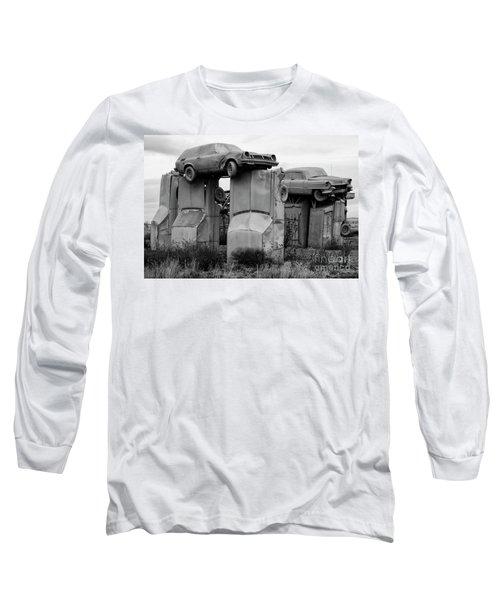 Carhenge Nebraska 19 Long Sleeve T-Shirt
