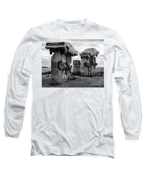 Carhenge Nebraska 21 Long Sleeve T-Shirt