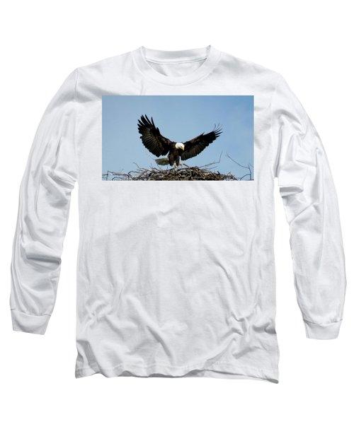 Cape Vincent Eagle Long Sleeve T-Shirt