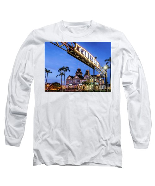 Carlsbad Welcome Sign Long Sleeve T-Shirt