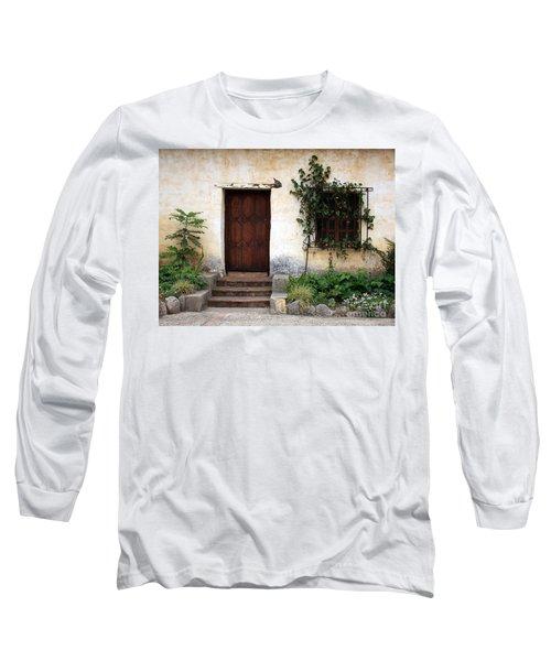 Carmel Mission Door Long Sleeve T-Shirt