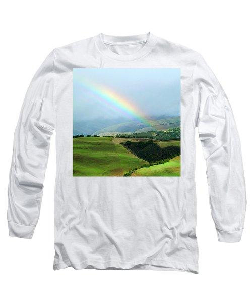 Carmel Valley Rainbow Long Sleeve T-Shirt