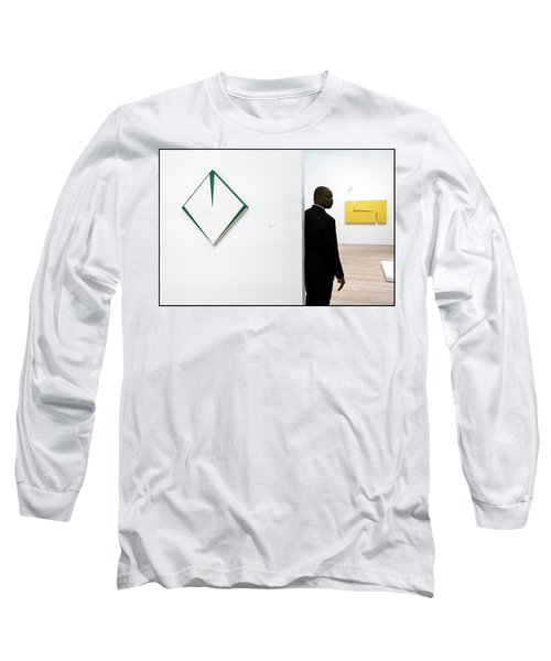 Carmen Herrera At The Whitney 1 Long Sleeve T-Shirt