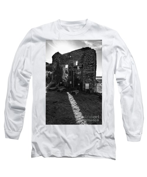 Photographs Of Cornwall Carnon Mine Long Sleeve T-Shirt