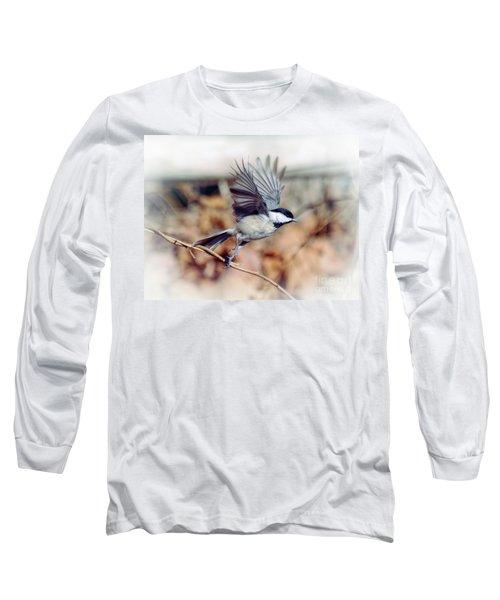 Carolina Chickadee - Come Fly With Me  Long Sleeve T-Shirt