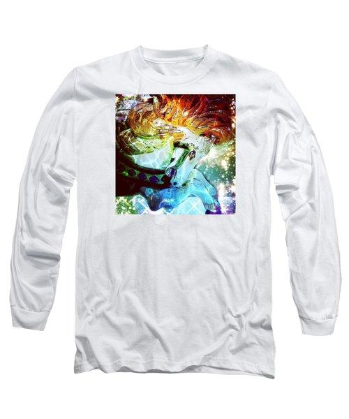 Carousel Fire Long Sleeve T-Shirt