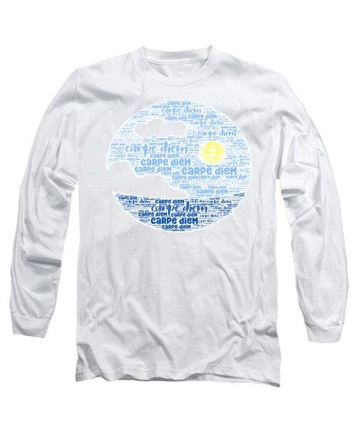 Carpe Aestatem Long Sleeve T-Shirt
