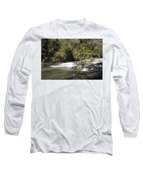 Cascade Falls Long Sleeve T-Shirt by Ricky Dean