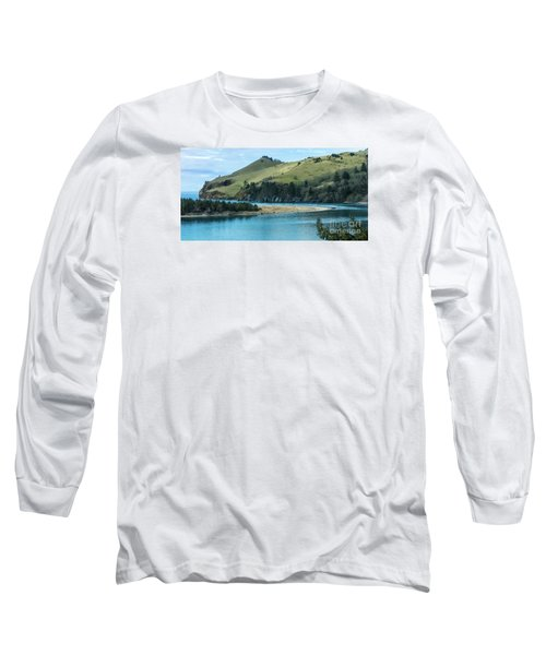 Cascade Head Panorama Long Sleeve T-Shirt