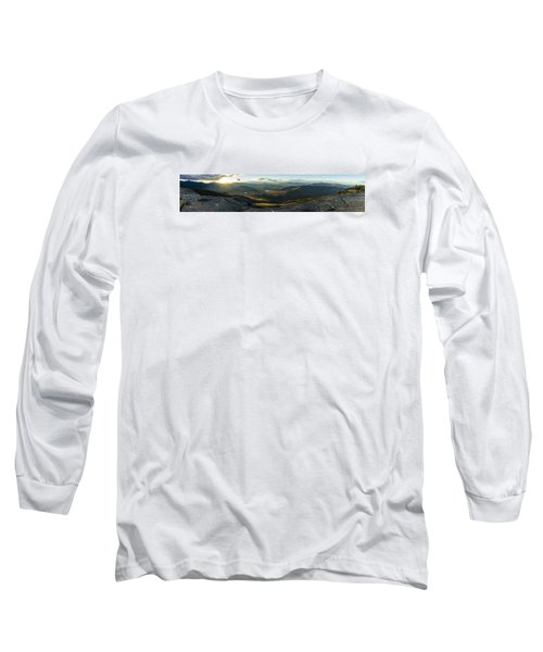 Cascade Mountain Sunset Long Sleeve T-Shirt