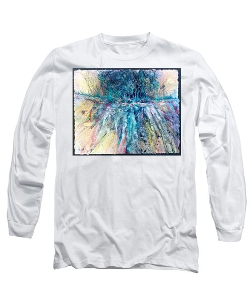 Cascade Ridge Long Sleeve T-Shirt by Carolyn Rosenberger