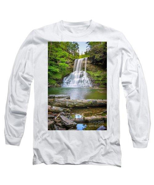 Cascades Falls Giles County Long Sleeve T-Shirt