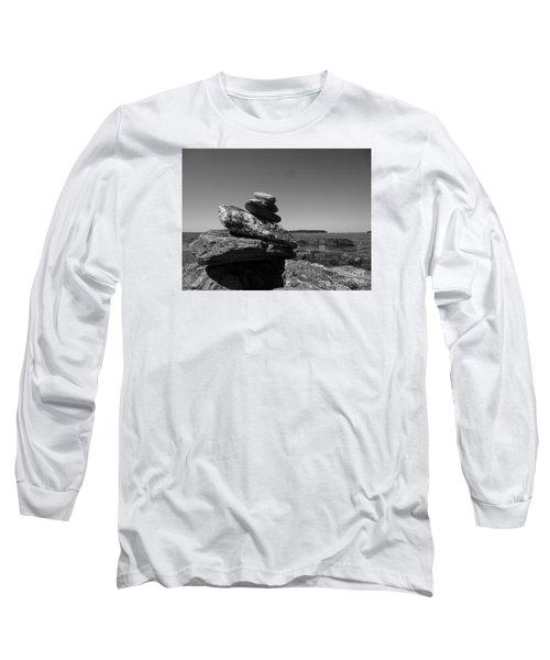Casco Bay Cairn Bw Long Sleeve T-Shirt