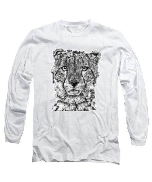 Cassandra The Cheetah Long Sleeve T-Shirt by Abbey Noelle