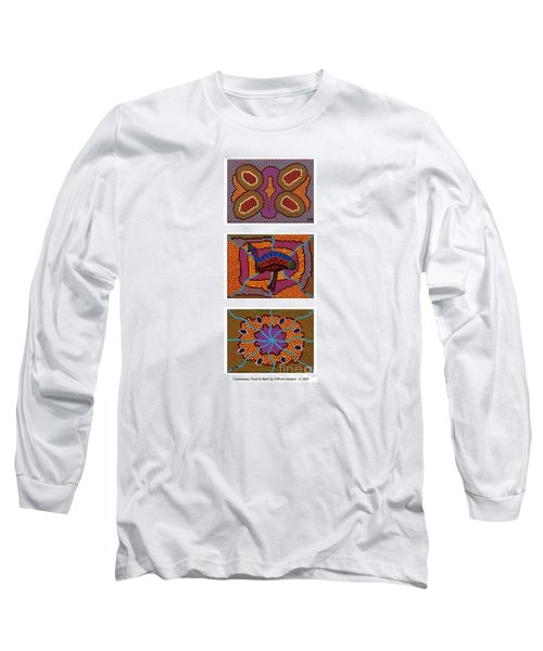 Cassowary - Food - Nest Long Sleeve T-Shirt by Clifford Madsen