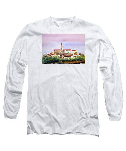 Castelnuovo Della Daunia Long Sleeve T-Shirt by William Renzulli