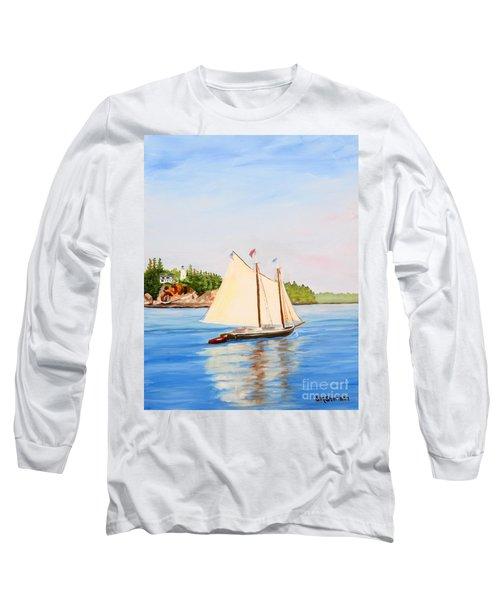 Castine Harbor And Dice Head Light Long Sleeve T-Shirt