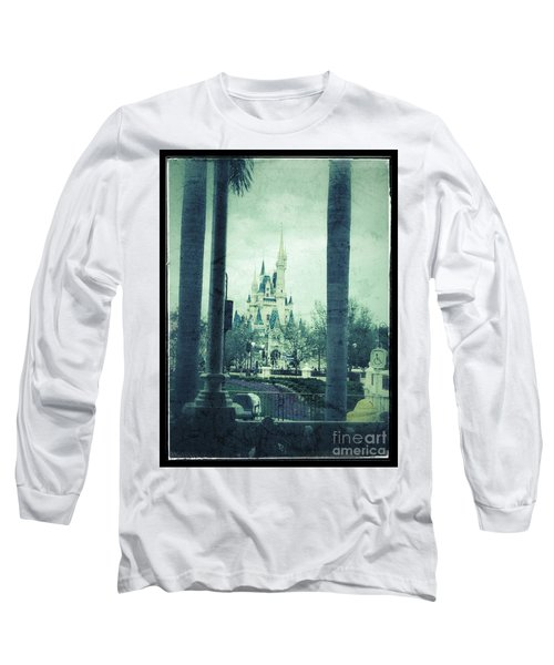 Castle Between The Palms Long Sleeve T-Shirt by Jason Nicholas